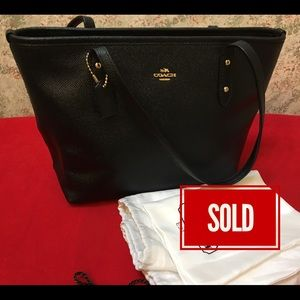SOLD! Do not purchase!~ COACH MINI CITY Tote